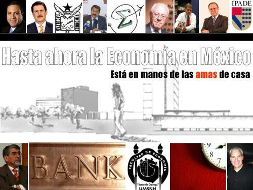 La mejor economñía se lleva por las AMAS DE CASA