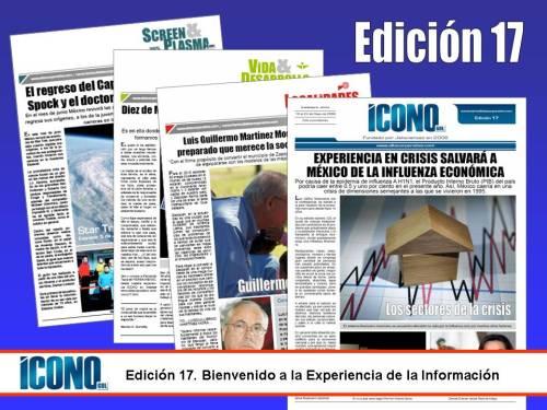 Ven y goza de la experiencia de la información en ICONO