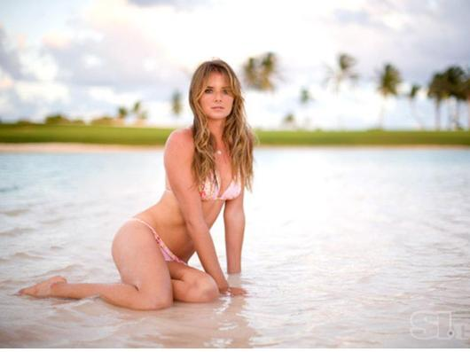 Daniela Hantuchova en la Playa