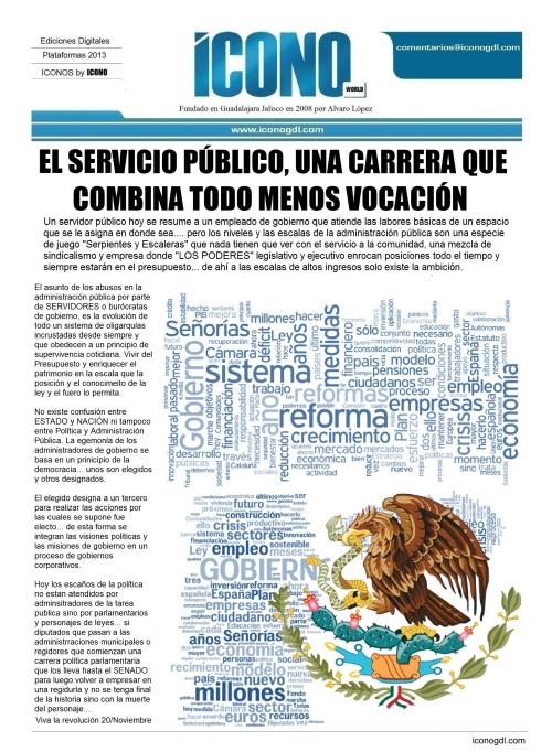 011 08 2013 El Servicio Publico