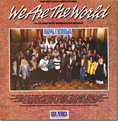 We are the world... accede al musical