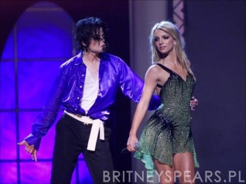 Junto con Britney Spears en dos momentos máximos de ambas estrellas
