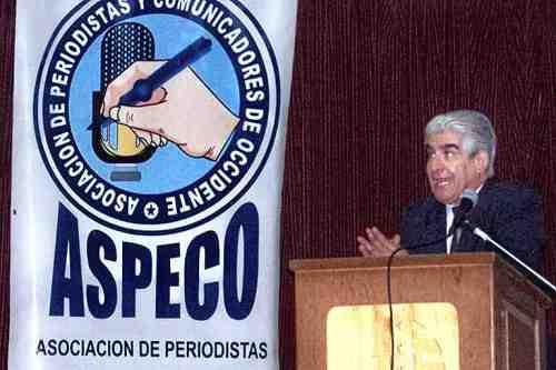 Alvaro López (Su servidor) en Conferencia en ASPECO