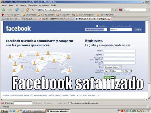 Facebook Red de redes sociales en el mundo de este siglo