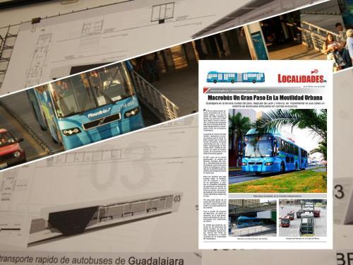 Macrobús un gran paso e Movilidad Urbana en Guadalajara