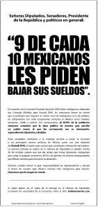 Desplegado persente en Reforma Lunes 26 de OCT 2009