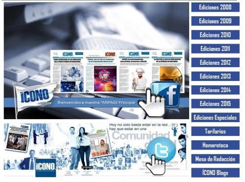 Bienvenidos al WEBSITE de ICONO