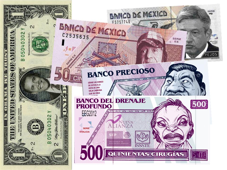 Billetes De Mexico. propio illete, lo vende,