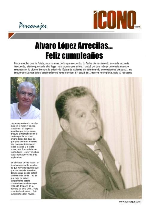 Don Alvaro López Arrecillas