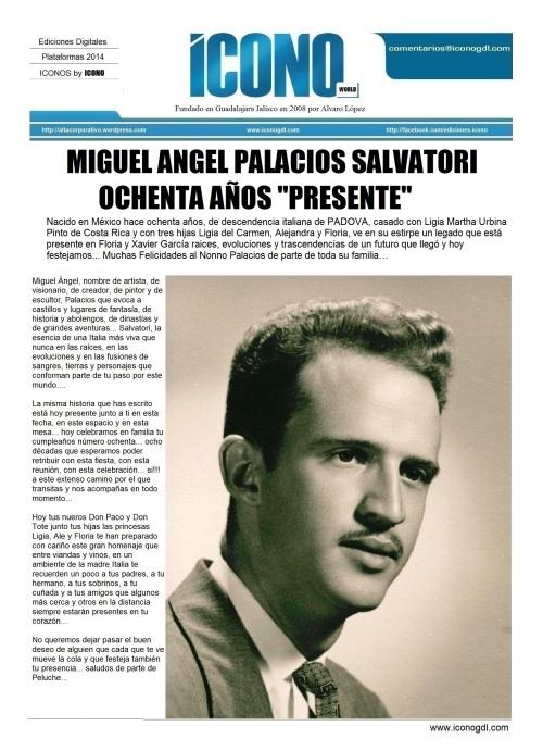 Miguel Angel Palacios Salvatori EL NONNO