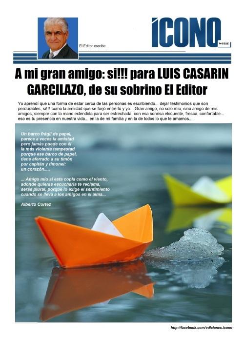 Con cariño para ese DON... Luis Casarín garcilazo