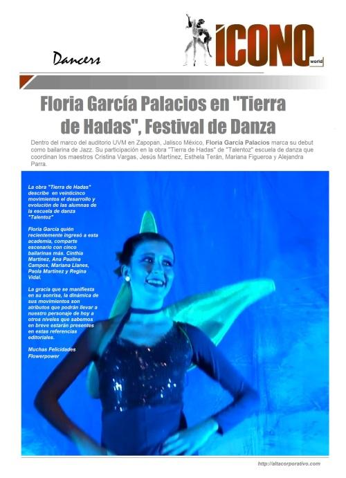 Floria García Palacios 2015 Festival de Verano