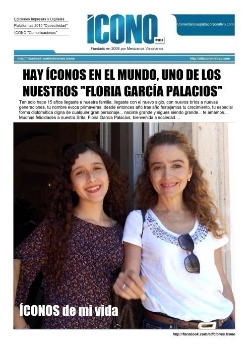 """Floria García Palacios """"La Embajadora"""""""