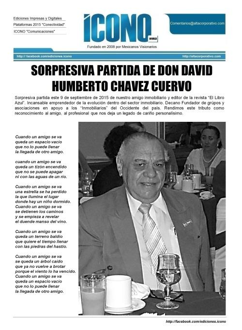 "Don David Humberto Chávez Cuervo ""Amigo"""